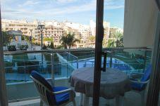Apartamento en Calpe - Borumbot 3 dormitorios vista piscina